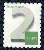 Allemagne 2013 Utilisé Used Affranchissement Complémentaire 2 Cent SU - BRD