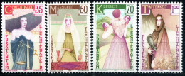 Liechtenstein - Michel 871 / 874 - ** Postfrisch (B) - Die Vier Kardinaltugenden - Liechtenstein