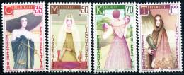 Liechtenstein - Michel 871 / 874 - ** Postfrisch (C) - Die Vier Kardinaltugenden - Liechtenstein