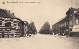 Bourg-Léopold - Rue De L'Hôpital Et Chaussée D'Hechtel - Leopoldsburg