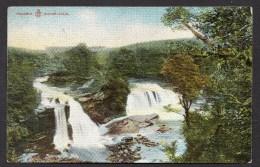 1909 Bonnington Falls Lanarkshire Posted Card As Scanned - Lanarkshire / Glasgow