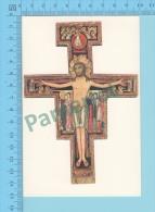 Religion ( Assisi-Chiesa Di S. Chiara ) Carte Postale  2 Scans