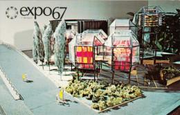 Expo 67 Expo67 World´s Fair - Montreal Canada - Pavillon C.N.R - C.N. Pavilion - Unused - # EX115A - Montreal