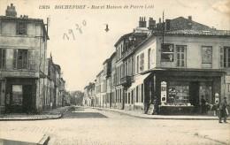 17 ROCHEFORT SUR MER Rue Et Maison Pierre Loti - Rochefort