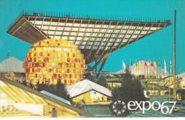 Expo 67 Expo67 World´s Fair - Montreal Canada - Pavillon Canada Pavilion - Unused - # EX202 - Montreal