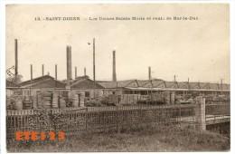 13  - Saint Dizier - Les Usines Sainte Marie Et Route De Bar Le Duc - St Dizier - Saint Dizier