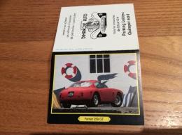 """Calendrier 1990 """"DIMANCHE AUTO Quimper (29) / Photo Peter Vann - Ferrari 250 GT Berlinetta Coupé (voiture)"""" (9,3x15cm) - Small : 1981-90"""
