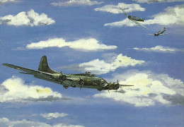 AIRPLANE * AEROPLANE * MILITARY AIRCRAFT * FIGHTER * BOMBER * ARMY * SOLDIER * PAINTING * Pechy Tamas 02 * Hungary - Flugzeuge
