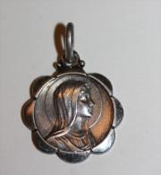 """Pendentif Médaille Religieuse Argent 925 """"sainte Marie"""" Religious Medal - Religion &  Esoterik"""