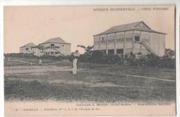 CP ABIDJAN Pavillons N 1 2 3 Du Chemin De Fer AFRIQUE OCCIDENTALE COTE D'IVOIRE - Côte-d'Ivoire