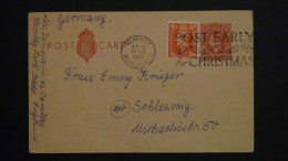 Great Britain - 1951/53 - Mi:P 68 O - Look Scans - Covers & Documents