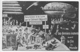 PUB Pour Le CLEMENT BAYARD II - Excursions à La Lune Avant La Fin Du Monde - 1900-1949