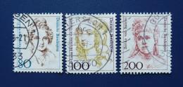 BRD - 1991,1994 - Mi: 1498,1755,1756 - O - BRD