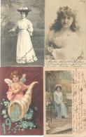 COLECCION DE POSTALES DE LA ARISTOCRATA TERRATENIENTE LAURA L. ARECHAVALETA PARTE 2 TODAS CIRCULADAS Y FIRMADAS - Postkaarten