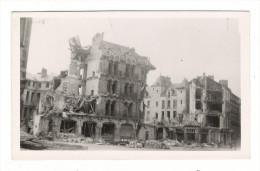 BOMBARDEMENTS DE NANTES  ( Septembre 1943 ) /  RUE  THIERS  ( Quartier Hôtel De Ville ) /  Cliché N° 16 - Nantes