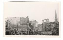 BOMBARDEMENTS DE NANTES  ( Septembre 1943 ) /   IMMEUBLE  RUE  DU  CALVAIRE  /  Cliché N° 6 - Nantes