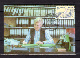 """Carte Maximum De 1983 """" FEMME CHEF D'ENTREPRISE """". N° YT 2088.  Parfait état. CM - 1981-1990"""