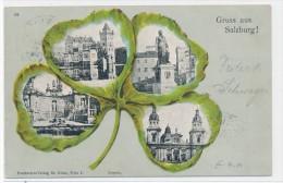 Österreich-Salzburg -Karte über 100 Jahre Alt ! (da 4848 ) Siehe Scan Vergrößert - Oostenrijk