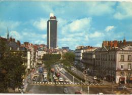 Nantes La Cours Des 50 Otages Et La Tour Bretagne 1985 CPSM Ou CPM - Nantes