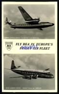 "Avions -  Fly BEA In Europe's Finest Air Fleet - ""Elizabethan"" Class Aeroplane - Viscount ""Discovery Class"" Aeroplane - 1946-....: Moderne"