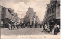CHERBOURG-CARREFOUR DES ROUTES DE L'UNION ET GRANDE VALLEE - Cherbourg
