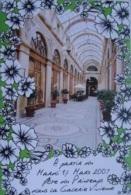 Intérieur Du Passage De La Galerie Vivienne à PARIS - Cartcom Des Commerçants   - Fête Du Printemps 2009 - Arrondissement: 02