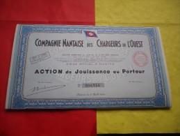 COMPAGNIE NANTAISE DES CHARGEURS DE L´OUEST (jouissance) Nantes - Unclassified