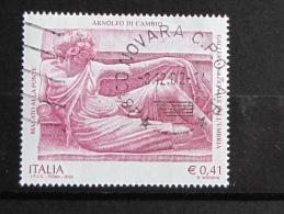 ITALIA USATI 2002 - ARNOLFO DI CAMBIO - SASSONE 2612 - RIF. G 2124 - LUSSO - 6. 1946-.. Repubblica