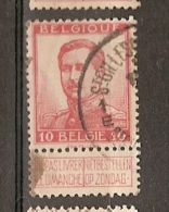 Belgium & Marcofilia Alberto I (123) - 1915-1920 Alberto I
