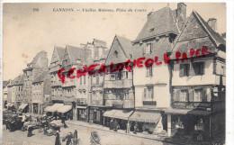 22 - LANNION - VIEILLES MAISONS  PLACE DU CENTRE - Lannion