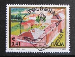 ITALIA USATI 2002 - TURISTICA VENARIA REALE - SASSONE 2613 - RIF. G 2125 - LUSSO - 6. 1946-.. Repubblica