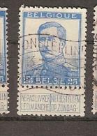 Belgium & Marcofilia Alberto I (125) - 1915-1920 Alberto I