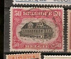 Belgium &  Marcofilia 1915 (144) - 1915-1920 Alberto I