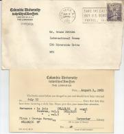 PERFIN  USA---- Per- New York --- 02-08-1952-- - America Centrale
