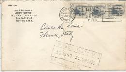 PERFIN  USA---- ITALIA, , FIRENZE 25-03-1963-: PERFIN-, I T C -- - America Centrale