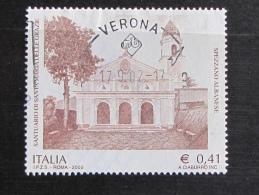 ITALIA USATI 2002 - SANTUARIO SANTA MARIA DELLE GRAZIE SPEZZANO ALBANESE - SASSONE 2617 - RIF. G 2130 - LUSSO - 6. 1946-.. Repubblica