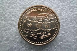 Nepal  1 Rupee  (2064)2007   UNC    KM# 1204 - Népal