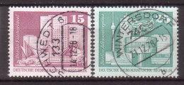 DDR , 1973 , Mi.Nr. 1853 / 1854 O / Used - [6] Democratic Republic