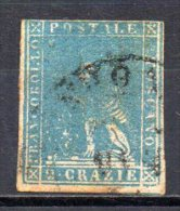 5/ Italie Toscane  : N° 13  Oblitéré  , Cote : 50,00 € , Disperse Belle Collection ! - Toskana