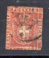 5/ Italie Toscane  : N° 21  Oblitéré  , Cote : 175,00 € , Disperse Belle Collection ! - Toskana
