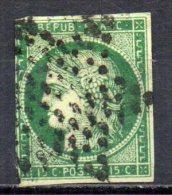 5/ France : N° 2 Oblitéré  , Cote : 1000,00 € , Disperse Belle Collection ! - France