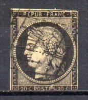 5/ France : N° 3 Oblitéré  , Cote : 60,00 € , Disperse Belle Collection ! - France