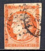 5/ France : N° 5 Oblitéré  , Cote : 500,00 € , Disperse Belle Collection ! - France