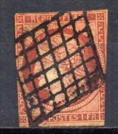5/ France : N° 6 Oblitéré  , Cote : 950,00 € , Disperse Belle Collection ! - France