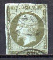 5/ France : N° 11 Oblitéré  , Cote : 90,00 € , Disperse Belle Collection ! - 1862 Napoleon III