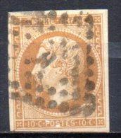 5/ France : N° 13 B Oblitéré  , Cote : 30,00 € , Disperse Belle Collection ! - 1862 Napoleon III