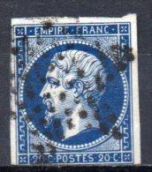 5/ France : N° 14 Oblitéré  , Cote : 2,00 € , Disperse Belle Collection ! - 1862 Napoleon III