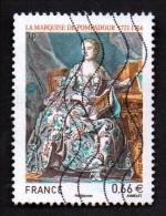 N° 4887 - Marquise De Pompadour - 2014 - Ob (recto Voir Scan) - France