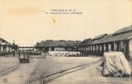 Dahomey A.O.F. - Magasins Du Wharf - Cotonou - Collection Géo Wolber - Carte Non Circulée - Dahomey
