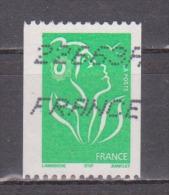 FRANCE / 2005 / Y&T N° 3742 : Lamouche ITVF (roulette) TVP Vert - Usuel - France